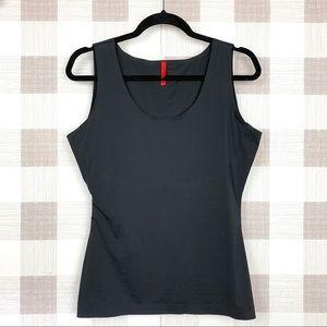 Spanx Thinstincts Shapewear Tank Top Black Spandex